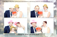 Lindsay & Steve's Wedding - Ford Sports & Social Club, Basildon, Essex, 4th June 2016.