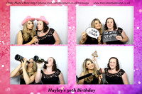 Hayley's 30th - @ Greeenwoods Spa, Stock Essex,  9th July 2016.