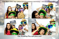 Sophie & David's Wedding Day @ The Lodge Country Inn  25th June 2016.