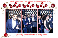 Speciality Drinks Christmas Party 2016 @DSTRKT, London, 22/12/2016.