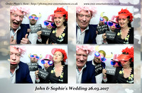 John & Sophie's Wedding 26.03.2017