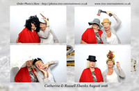 Russell and Catherine wedding 27th-Aug-16