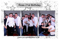 Ross 21st - Thurrock Hotel, Essex, 8th April 2017.