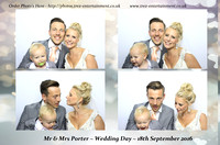 Max & Courtney Porter's Wedding- The Lawn, Rochford, Essex, 18th September 2016.