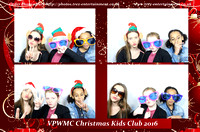 VPWMC Christmas Kids Club, Basildon, Essex, 17th December 2016.
