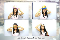 Mr and Mrs Kennedy  1-Jul-17 Orsett Hall