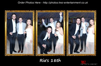 Ria's 18th - Bexley, Kent, 25th February 2017.