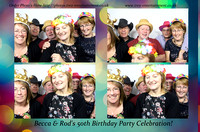 Becca & Rod's 50th Birthday- Little Channel, Chelmsford, Essex 12/11/2016.