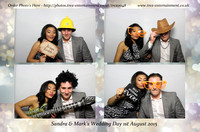 Sandra & Mark's Wedding Day - Ashwells Country Club, Brentwood, Essex.