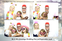 Mr & Mrs Jennings Wedding- Little Channels, Chelmsford, Essex, 3rd September 2016.