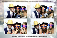 Simon & Kayleigh's Wedding Day - The Old Parish Rooms, Rayleigh, Essex. 28th August 2016.