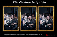 PEM Christmas Party - 09/12/2016 Guild Hall, Cambridge.
