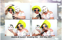 Deanna and Sunny's Wedding - Blake Hall, 26th May-2017