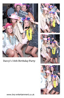 Darcy's 16th Birthday Party, Montrose, 15/7/17